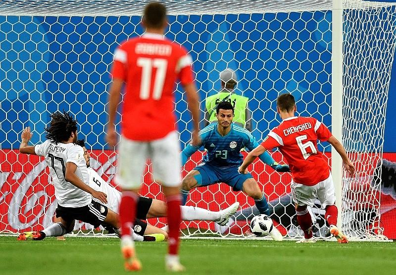 Rusko Egypt  V A Skupine Rusi Prakticky V Osemfinale