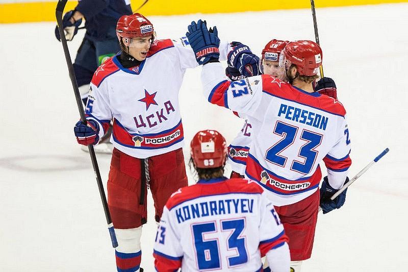 Slovan Bratislava prehral prvý duel na ľade CSKA Moskva  9203c017706